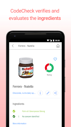 CodeCheck: Food & Cosmetic Product Scanner 5.4.6 screenshots 3