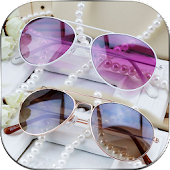 Stylish Sunglass Foto Montage