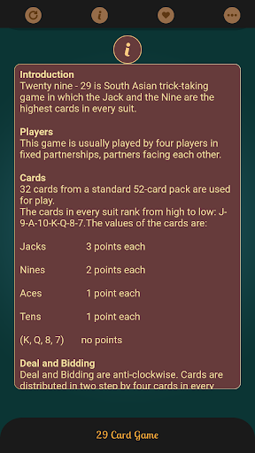 29 Card Game Best Ever 1.0.8 screenshots 6