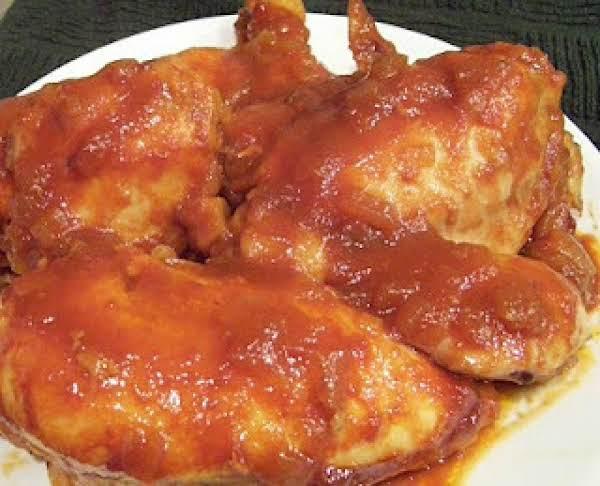 Sugar Barbecued Chicken Recipe