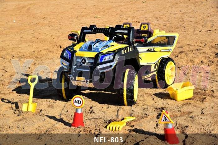 xe hơi địa hình cho bé trai NEL
