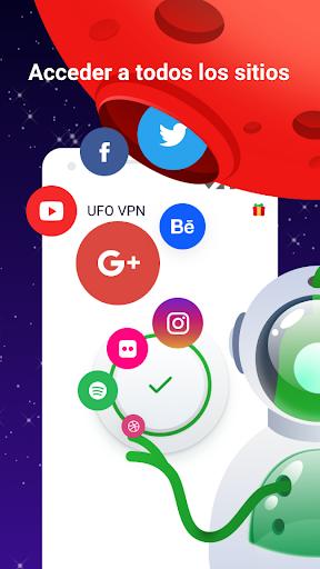 UFO VPN Basic - Proxy VPN Gratis y WiFi Seguro screenshot 2