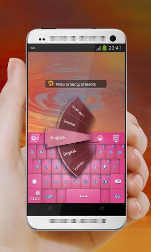 粉紅色的喜悅 GO Keyboard