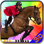 Horse Riding Hill Climb 3d Icon