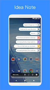 Idea Note - Floating Note, Voice Note, Voice Memo Screenshot