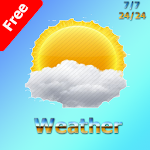 Weather for free icon