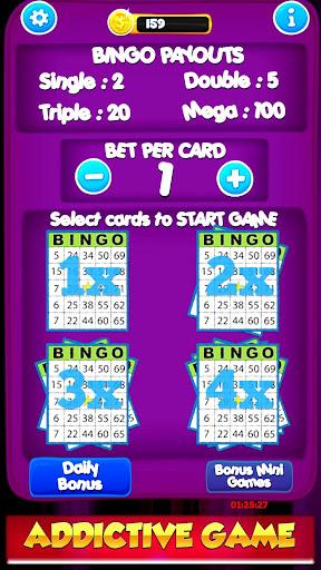 Free Bingo New Cards Game - Vegas Casino Feel  screenshots 2