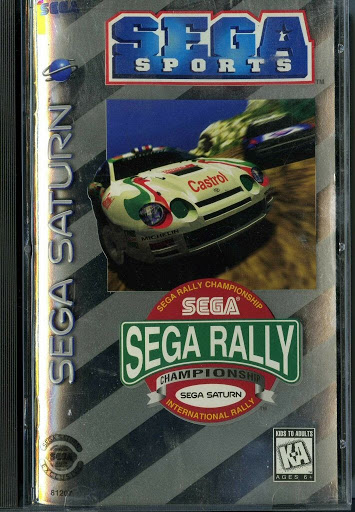 Video game:Sega Saturn Sega Rally Championship