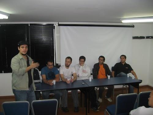 Álbum de fotos do Décimo encontro do Guru-SP: mesa redonda