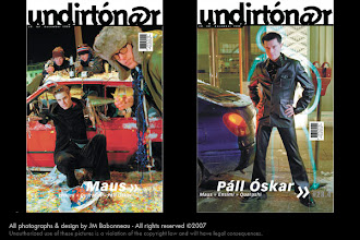 Photo: Undirtónar, music magazine,  in Reykjavík, Iceland (1999) © photos by jean-marie babonneau all rights reserved http://www.betterworldinc.org