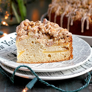 Apple Coffee Cake with Cinnamon Streusel