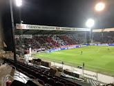 Le tifo des supporters de l'Antwerp et de Courtrai