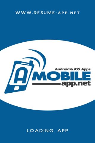 Resume App Demo