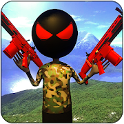 Grand StickMan World War Battleground FPS Shooting 1.0