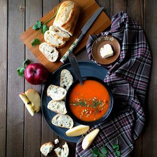 Apple Carrot Soup - Feel Better Soup