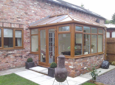 Converted conservatory