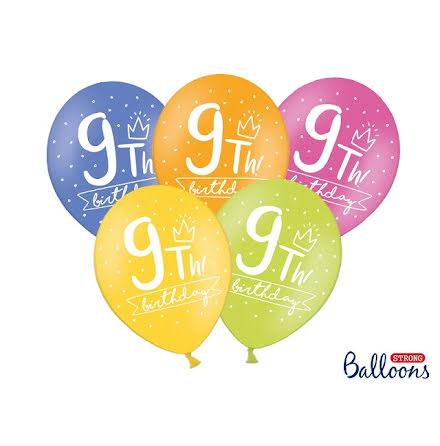 Ballonger 9th birthday