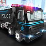 3D Police Truck Simulator 2016 Icon