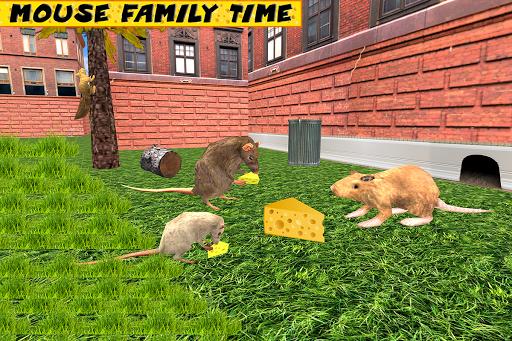 Stray Mouse Family Simulator: City Mice Survival  screenshots 8
