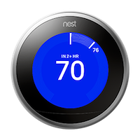 Nest thermostat gen 3 time to temperature