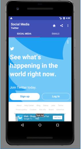 Popular Social media and Emails 1.0.0.4.0 screenshots 4