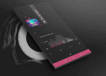 DARK Elegant TS7E UI for Klwp V1.0 4