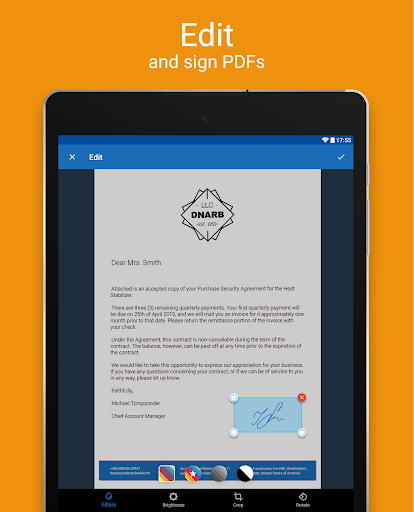 Scanner App for Me: Scan Documents to PDF 1.5 screenshots 9
