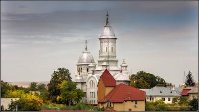 Photo: Turda - Str. Sirenei, vedere panorama, Turda - Str. Gelu, Nr.5 - Biserica Baptista IMAHAZ  si Catedrala Ortodoxa  - 2019.09.24
