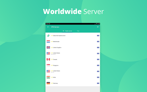 VPN Proxy Master-Free security  screenshots 10
