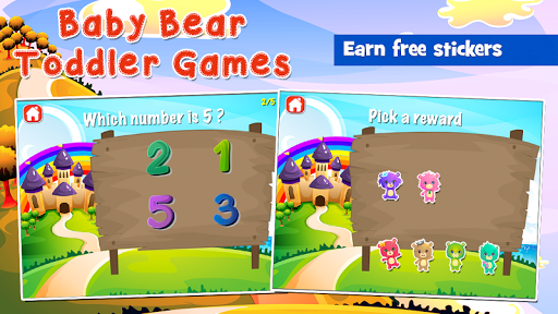 Baby Bear Games for Toddlers  screenshots 4