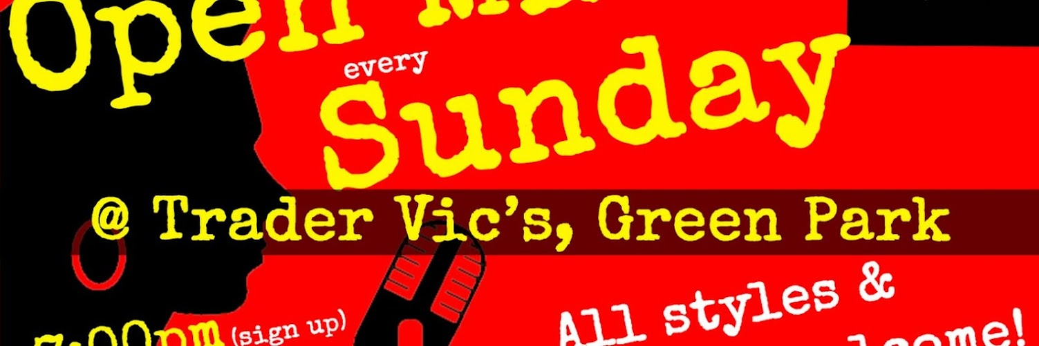 UK Open Mic @ Trader Vic's in Hyde Park / Green Park / Mayfair / Marble Arch 2019-12-15