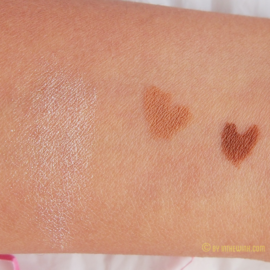 OFRA Derma Mineral Powder in Pink Sapphire and Vincent Longo Duo Lip Pencil in Toffee and Toast