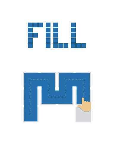 Fill - one-line puzzle game screenshots 11