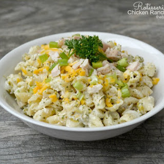 Rotisserie Chicken Ranch Pasta Salad