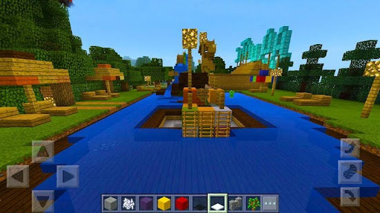 Super Waterslides Map for MCPE redstone! - náhled