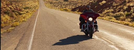 afrique du sud a moto Harley Davidson