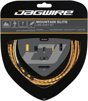 Jagwire Mountain Elite Link Shift Cable Kit with Ultra-Slick Uncoated Cables alternate image 11