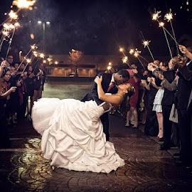 Sparkle by Brian Mullins - Wedding Other ( sparkler, wedding )