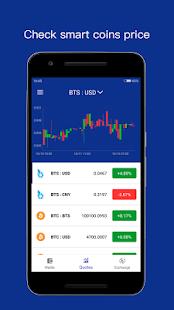 BitShares Wallet & Trade - náhled