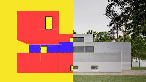 Deutschland Stuttgart Abstraktion Gegenstandslose Malerei