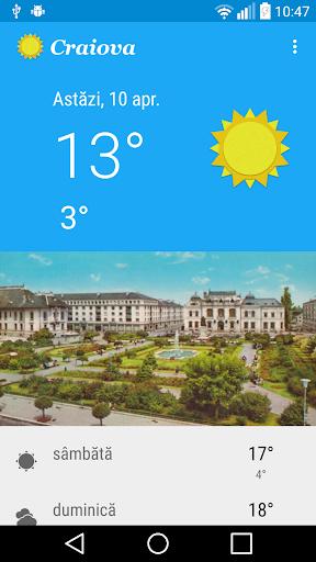 Vremea în Craiova