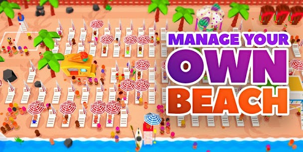 Idle Beach Tycoon Mod Apk (Unlimited Crystals) 1.0.4 6