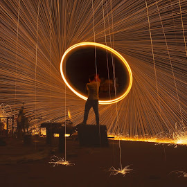 by KY Pang - Abstract Light Painting