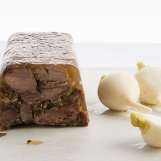 Pork Terrine with Pickled Turnips