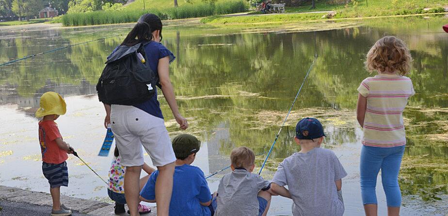 "Картинки по запросу ""fishing lesson in central park"""
