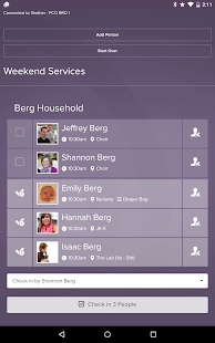 Planning Center Check-Ins- screenshot thumbnail