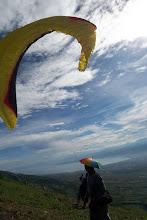 Photo: at take off site Mt. Matantimali