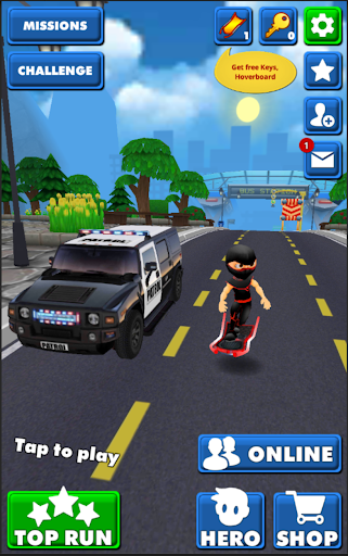 Subway Ninja Run:Surfer in the road Apk 2