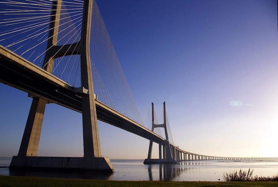Bridge in Germany by Gubernator Orbis - Transportation Other
