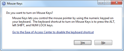 operate windows without a mouse